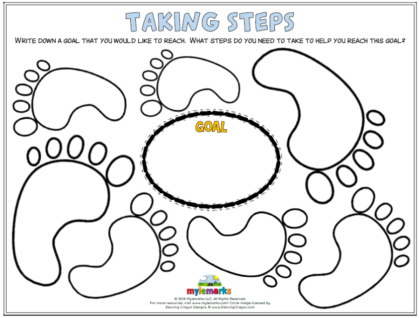Goal Setting Worksheets For Kids And Teens