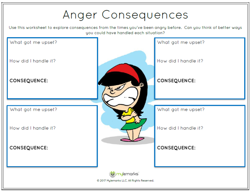 Activities For Kids With Anger Issues